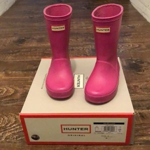 GUC Toddler Hunter boots, size UK 7